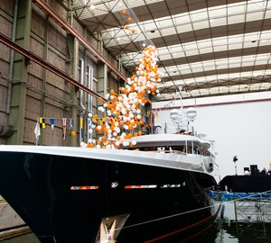Launch of new Amels Limited Editions 180 motor yacht Hull 466