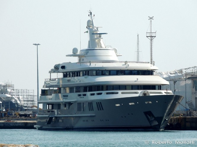 Amels Mega Yacht Reborn - Photo by Roberto Malfatti