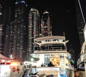 A very successful DIBS 2014 for Permare with Amer 92' Deluxe Yacht on display