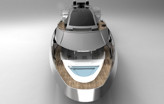 Atlantic superyacht design - front view