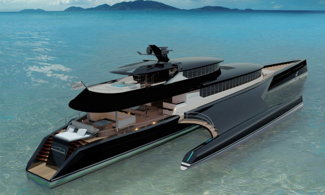 BCY 60m Carbon Edition Yacht Concept