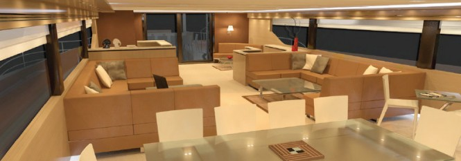 BCY 60m superyacht concept - Interior