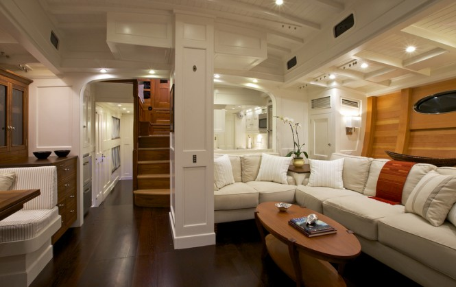 Bequia Yacht - Interior - Photo credit to Langley Photography