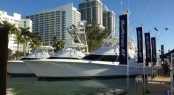 Hatteras Yachts at the 2014 Miami Boat Show