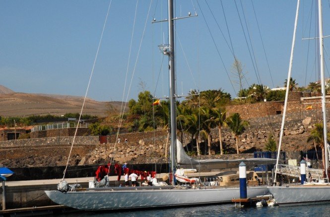 Late afternoon at Puerto Calero