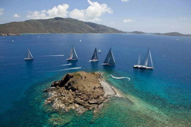 Loro Piana Caribbean Superyacht Regatta & Rendezvous 2014. Photo Jeff Brown/SYM