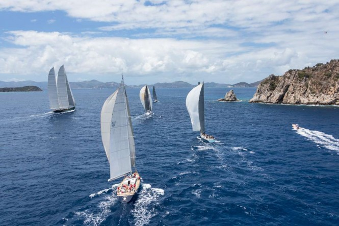 Loro Piana Caribbean Superyacht Regatta & Rendezvous 2014. Image Jeff BrownSuperyacht Media