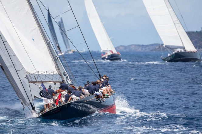 Loro Piana Caribbean Superyacht Regatta & Rendezvous 2014. Photo Jeff BrownSuperyacht Media