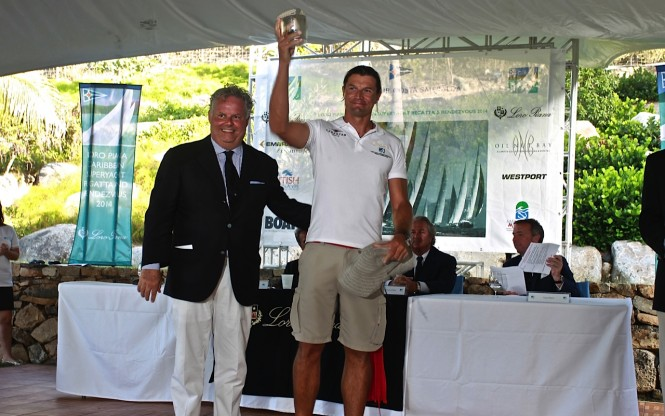 Loro Piana Caribbean Superyacht Regatta and Rendezvous 2014 Award
