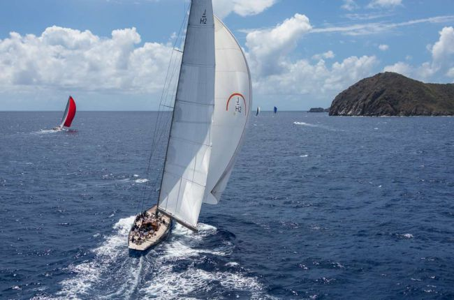 Loro Piana Caribbean Superyacht Regatta & Rendezvous 2014. Photo Jeff Brown/Superyacht Media