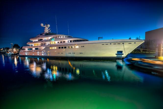 Luxury Motor Yacht KIBO - Image courtesy of Abeking und Rasmussen