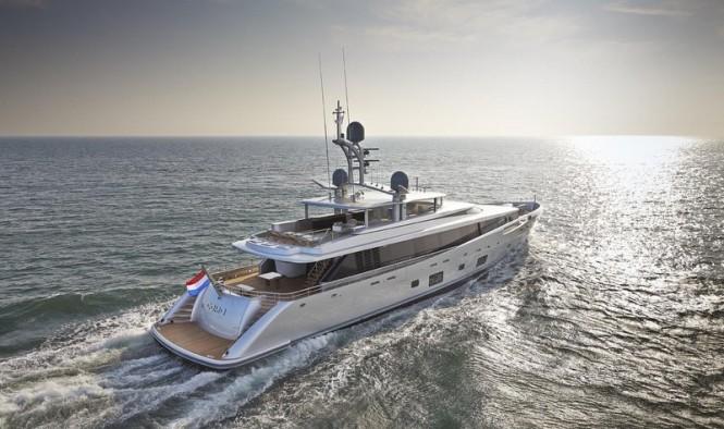 Luxury motor yacht COMO