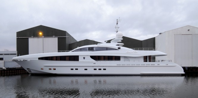 Luxury motor yacht Galatea (YN 15640) by Heesen Yachts - Photo credit to Dick Holthuis Photography