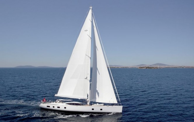 Luxury sailing yacht Sarafin