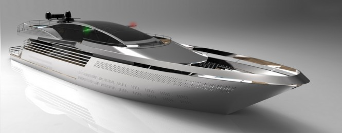 Luxury yacht Atlantic concept