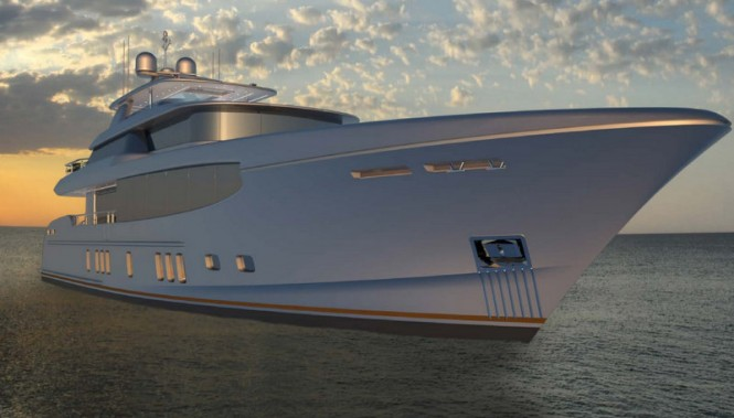 Luxury yacht Burger 112 RPH concept