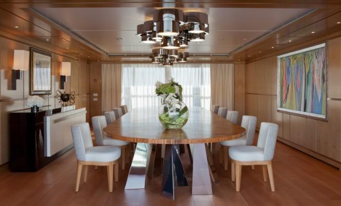 Luxury yacht CHOPI CHOPI - Dining room - Maurizio Paradisi