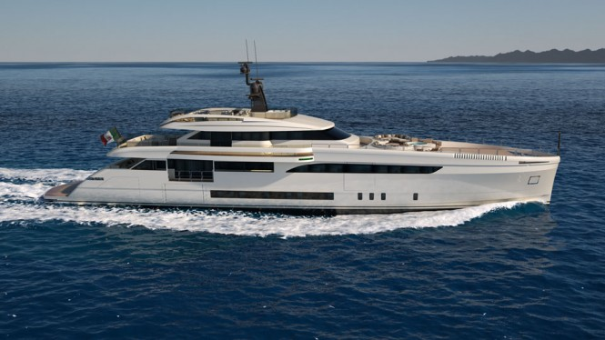 Luxury yacht Wider 165
