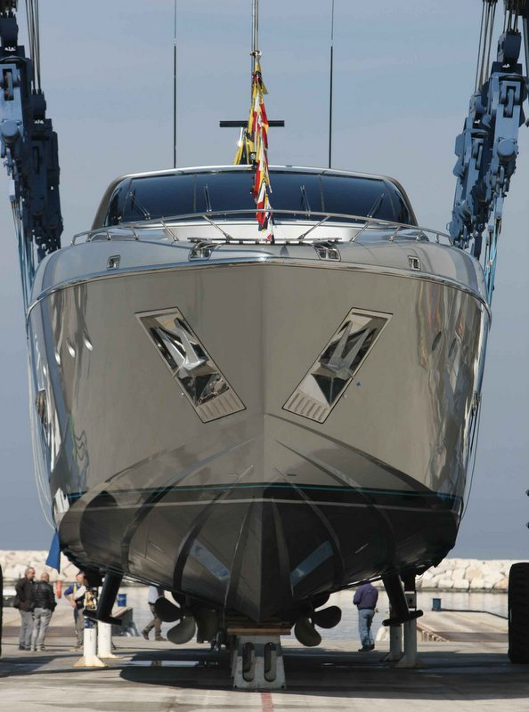 MYTHOS superyacht - front view