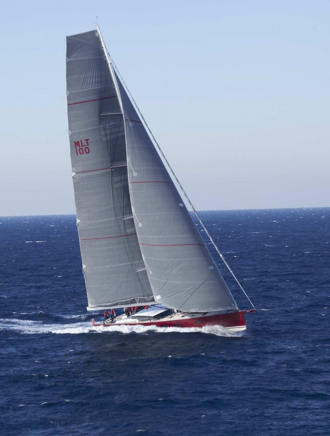 NOMAD IV Yacht under sail