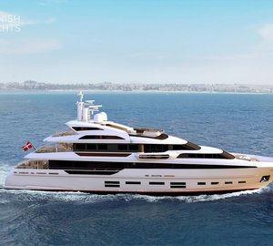 New 'QuadraDeck' superyacht series by Danish Yachts destined for the Americas