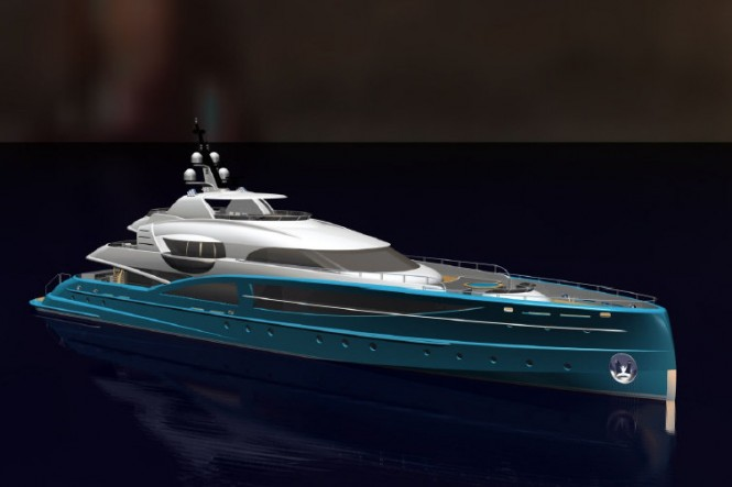 New 54m superyacht design by RW Yacht Design