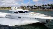 New Overmarine superyacht Mangusta 110 in Miami