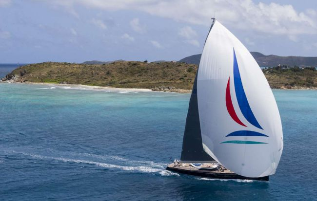 Nilaya - Loro Piana Caribbean Superyacht Regatta & Rendezvous 2014. Photo C/Sualo Borlenghi/ Superyacht Media