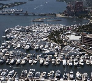 Luxury superyachts on display at the 29th annual Palm Beach Boat Show
