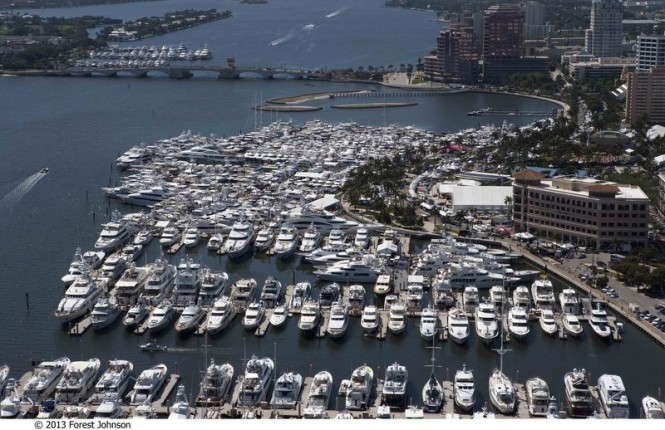 Palm Beach International Boat Show 2013 - Photo credit to 2013 Forest Johnson