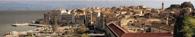 Panoramic view of the city of Corfu- the old harbour area - Photo credit to Visit Greece - Greek Tourism Board