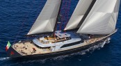 Perini Navi superyacht Seahawk to attend St Barths Bucket for the first time - Photo: Studio Borlenghi/Francesco Ferri