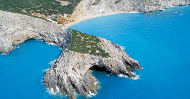 Porto Katsiki Lefkada's most famous beach - Image credit to Visit Greece