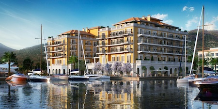 Porto Montenegro in the enchanting Eastern Mediterranean yacht charter location - Montenegro