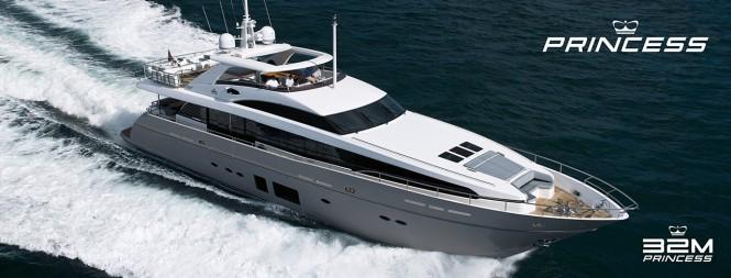 Princess 32M superyacht