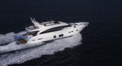 Princess 82 superyacht making her debut at the 2014 Palm Beach Boat Show