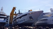 Rossinavi Motor Yacht POLARIS at her launch