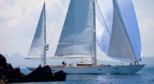 Sailing yacht Bequia designed by Stephens Waring