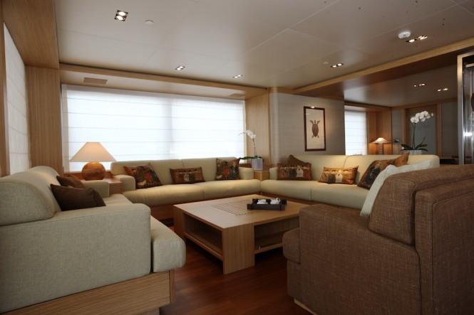 Salon Super Yacht Exuma -  Photo  courtesy of Perini Navi