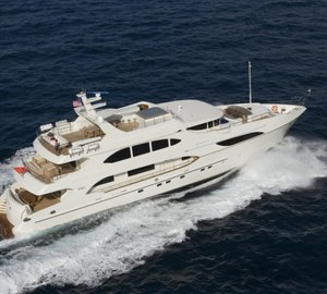 IAG Yachts to showcase Primadonna Hull #2 Yacht LADY CHRISTING at 2014 Palm Beach Boat Show