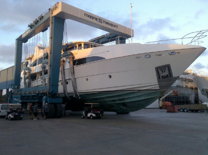 Second hull of the Primadonna Series motor yacht Lady Christing by IAG Yachts