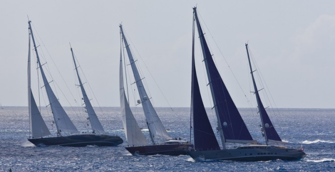 Saint Barths Bucket Super Yacht Regatta - Photo by Onne van der Wal