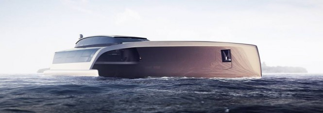Sunreef Trimaran 210 superyacht project