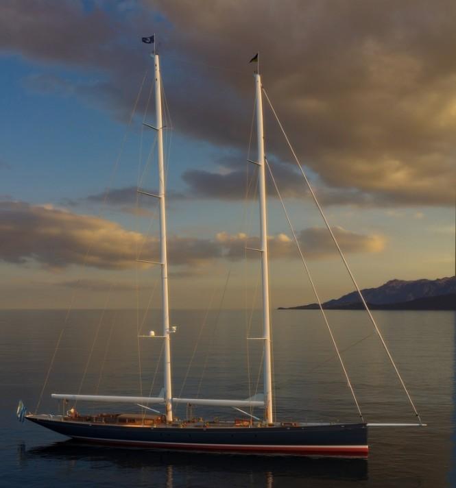 Superyacht Dona Francisca - Image courtesy of Soto Acebal NA
