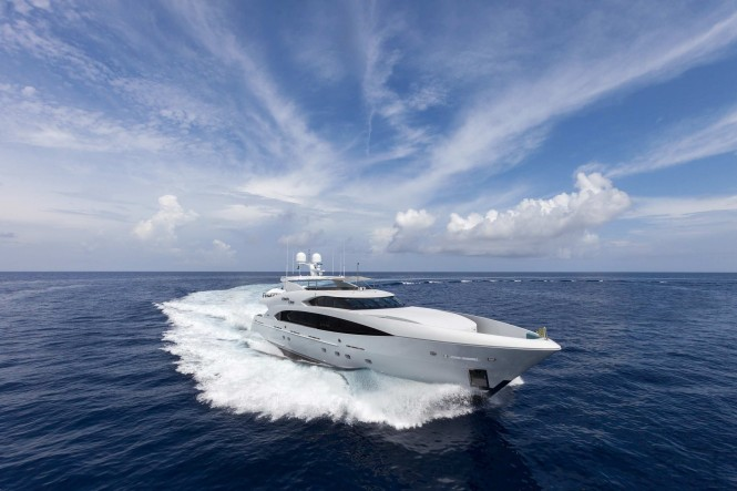 Superyacht Finish Line by Trinity Yachts and YachtNext
