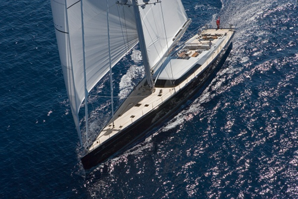 Superyacht Mystere with upgrade of the main electrical distribution system by Piet Brouwer - Credits Photo courtesy of Vitters Shipyard – Albert Brunsting