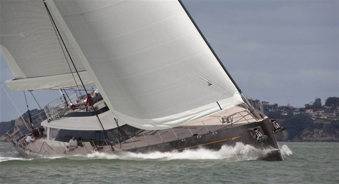 Superyacht Ohana by Fitzroy and Dubois - One of sailing yachts attending the 2014 Loro Piana Caribbean Superyacht Regatta