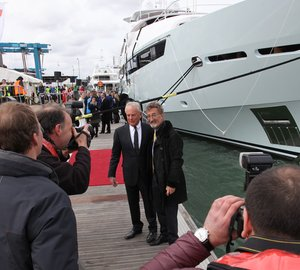 The official British launch of 'Sunseeker 155 Yacht' motor yacht BLUSH