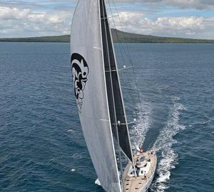 Additional images of Wally 100 Yacht INDIO with new Doyle Stratis ICE sails