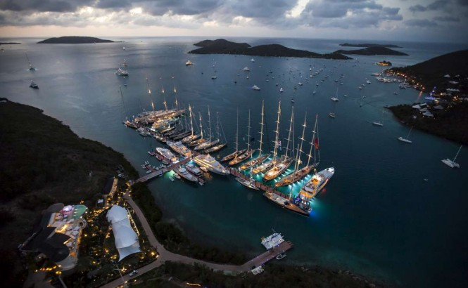 YCCS Clubhouse & Marina, North Sound, Virgin Gorda. Photo Jeff Brown/Superyacht Media